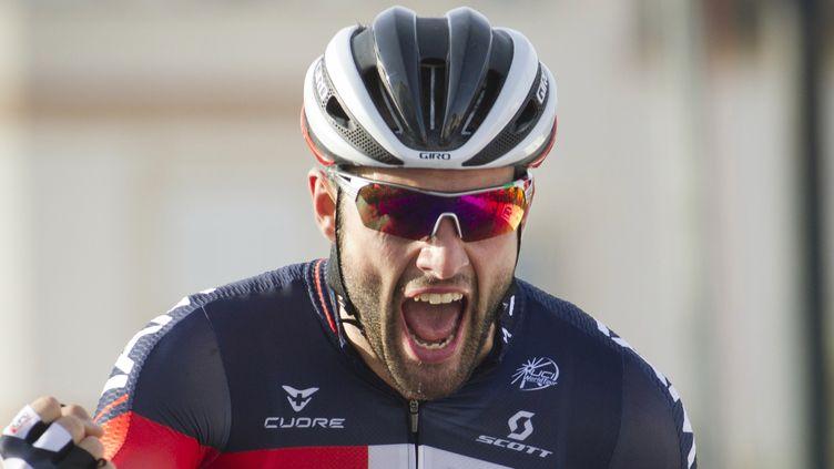 Matteo Pelucchi a profité d'une grosse chute dans le final (JAIME REINA / AFP)