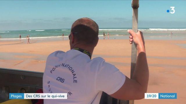 Vacances : les CRS, gardiens de la plage