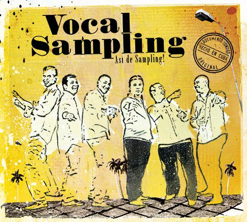"La pochette Vocal Sampling ""Asi de sampling""  (Luis Barbolla)"