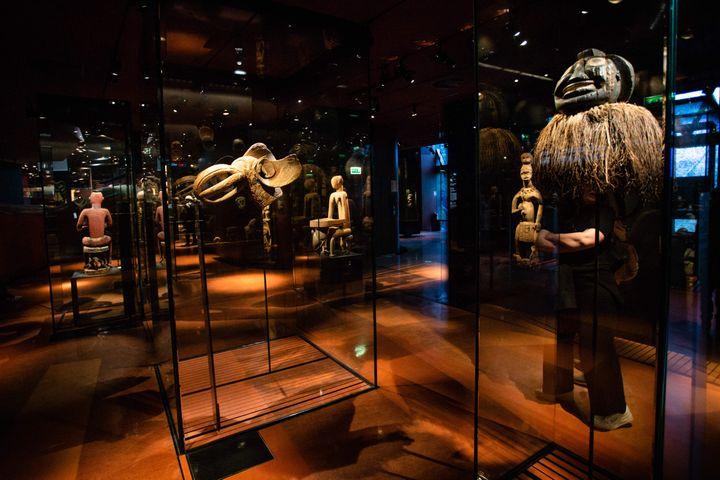 Les collections permanentes du musée du Quai Branly (12 mars 2019) (AURELIEN MORISSARD / MAXPPP)