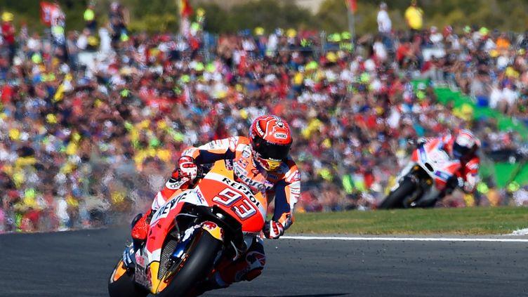 Marc Marquez (Honda) champion du Monde MotoGP pour la 4e fois