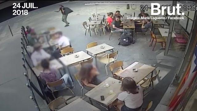Frappée au visage dans la rue par un homme parce qu'elle lui avait répondu, Marie Laguerre a décidé de publier la vidéo de son agression.