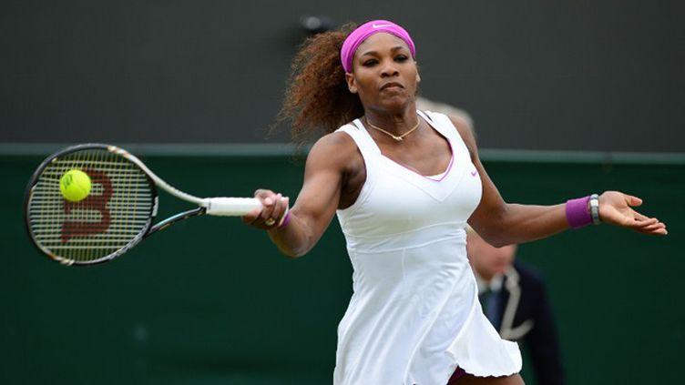 L'Américaine Serena Williams