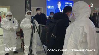 Coronavirus : l'étrange chaos (ENVOYÉ SPÉCIAL  / FRANCE 2)