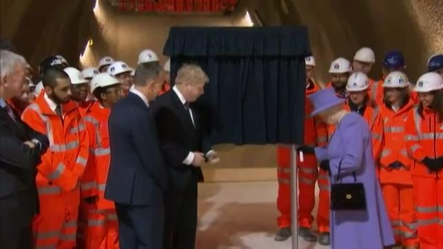 """A Londres, la reine d'Angleterre aura une nouvelle ligne de métro à son nom la """"Elizabeth line"""""""