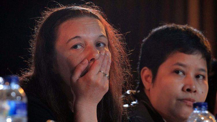 (Sabine Atlaoui est l'épouse d'un Français condamné à mort pour trafic de drogue en 2007 par l'Indonésie. © MaxPPP)