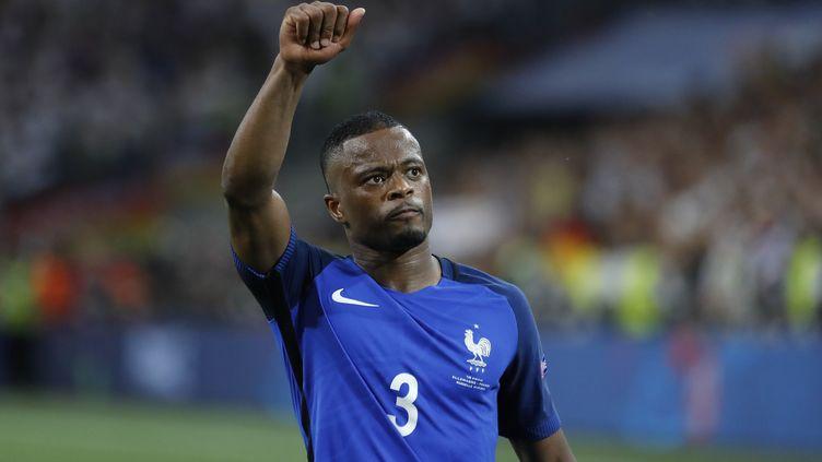 Le défenseur français Patrice Evra (PHILIPPE LAURENSON / BLUEPIX)