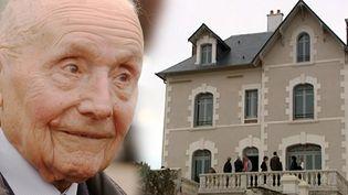 La maison de Julien Gracq àSaint-Florent-le-Vieil (Maine-et-Loire)  (FRANCK PERRY / AFP-FILES / AFP)