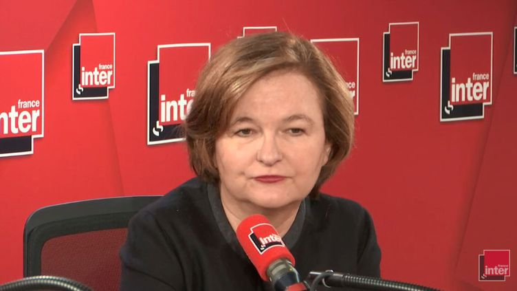 La ministre chargée des Affaires européennes Nathalie Loiseau, invitée de France Inter,mercredi 16 janvier. (FRANCE INTER / RADIOFRANCE)