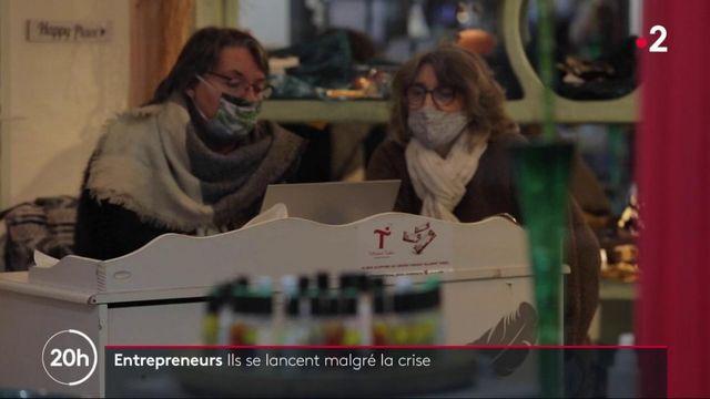 Entrepreneuriat : ils se sont lancés malgré l'épidémie