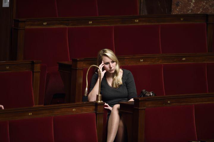Marion Maréchal-Le Pen à l'Assemblée nationale, le 12 novembre 2014. (ERIC FEFERBERG / AFP)