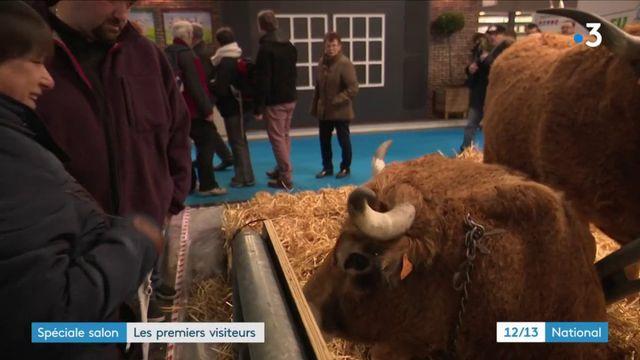 Les premiers visiteurs sont arrivés au Salon de l'agriculture