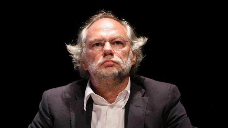 (Laurent Joffrin à La Rochelle, en 2010 © MAXPPP / Wostok Press)