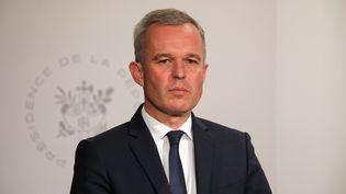 Le ministre de la Transition écologique et solidaire, François de Rugy, le 10 juillet 2019, à Paris. (LUDOVIC MARIN / AFP)