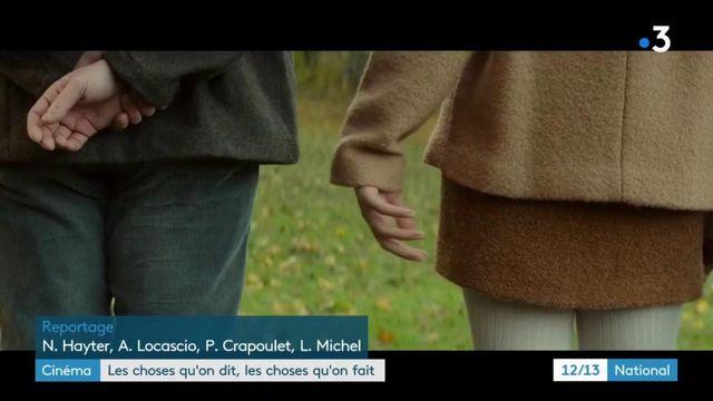 """""""Les choses qu'on dit, les choses qu'on fait"""" : l'amour comme intrigue"""