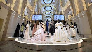"""Exposition """"Christian Dior, couturier du rêve"""" aux Arts décoratifs.  (ALAIN JOCARD / AFP)"""