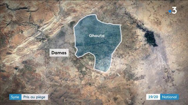 Syrie : 400 000 habitants pris au piège dans la banlieue de Damas