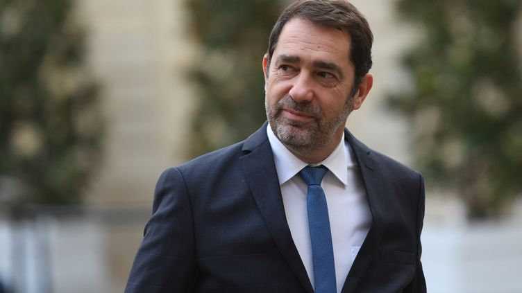 Christophe Castaner, le 25 novembre 2019, à Paris. (STEPHANE DE SAKUTIN / AFP)
