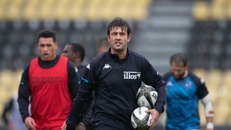 Xavier Garbajosa au Stade Rochelais, le 27 décembre dernier. (XAVIER LEOTY / AFP)