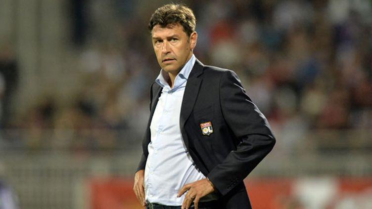 L'entraîneur de Lyon Hubert Fournier