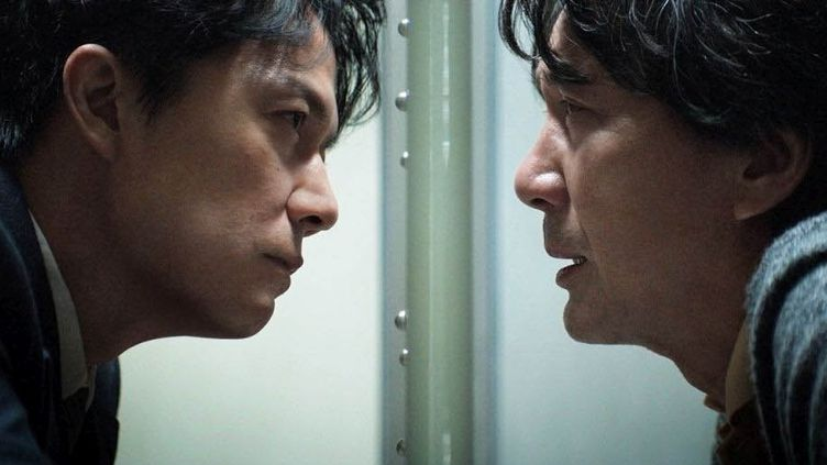 """Koji Yakusho et Masaharu Fukuyama dans """"The Tird Murder"""" de Hirokazu Kore-eda  (FUJI TELEVISION NETWORKAMUSE INC. GAGA CORPORATION)"""