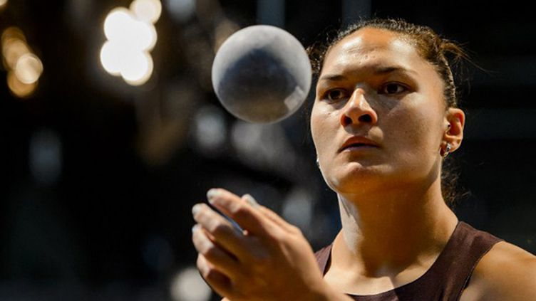 Valerie Adams (FABRICE COFFRINI / AFP)