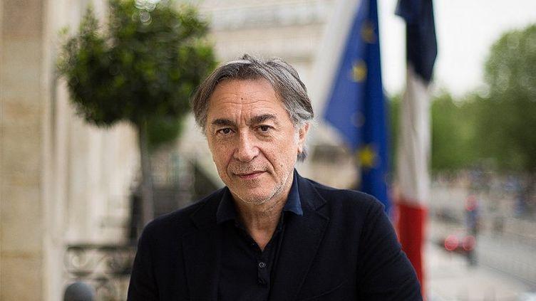 Le comédien Richard Berry à Bordeaux (Gironde) le 24 avril 2015. (CONSTANT FORME-BECHERAT / HANS LUCAS / AFP)