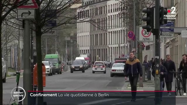 Confinement : la vie quotidienne à Berlin
