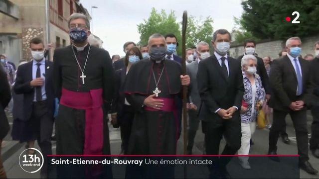 13H Saint-Etienne-du- Rouvray rend hommage au Père Hamel