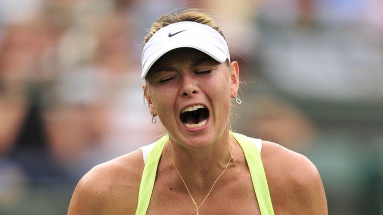 La rage de la Russe Maria Sharapova