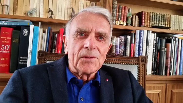 Le général Jean Varret. (BENOÎT COLLOMBAT / RADIO FRANCE)