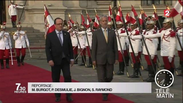 François Hollande au Pérou