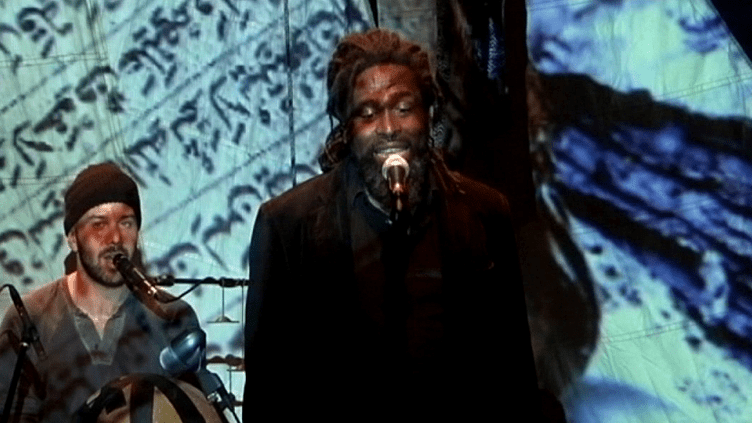 Soeuf Elbadawi etOusmane Danedjo sur scène  (FranceÔ/culturebox)