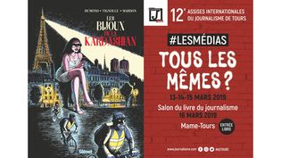 ENQUETES, FILATURES, REPORTAGES ET BANDES DESSINEES (GREGORY MARDON, GLENAT / ASSISES INTERNATIONALES DU JOURNALISME DE TOURS)