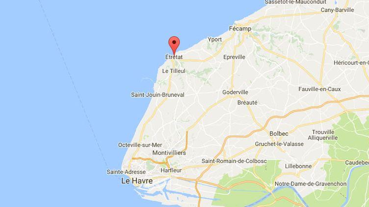 """Seine-Maritime : l'ex-maire d'Etretat mis en examen pour """"attouchements sexuels"""" sur une écolière (GOOGLE MAPS)"""