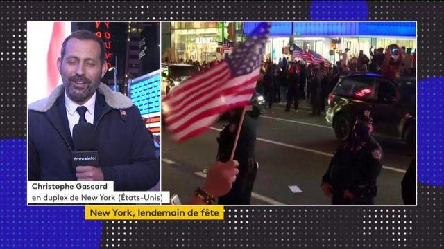 Etats-Unis : New York a fêté la défaite de Donald Trump bon