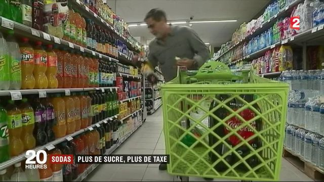 Sodas : des hausses de taxe pour les produits les plus sucrés