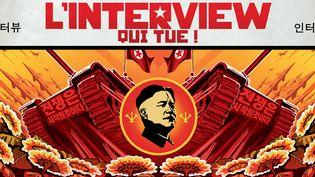 """""""L'interview qui tue !"""", détail de l'affiche  (Sony Pictures)"""