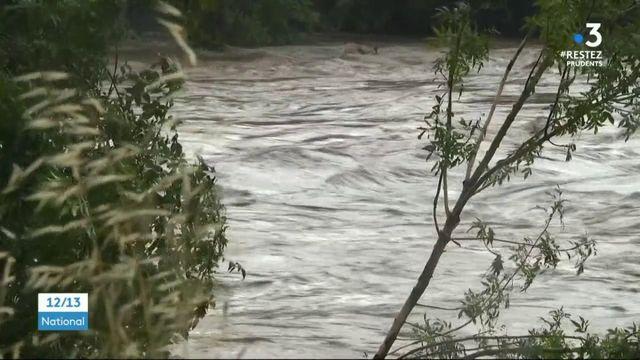 Gard : des pluies diluviennes s'abattent sur le département