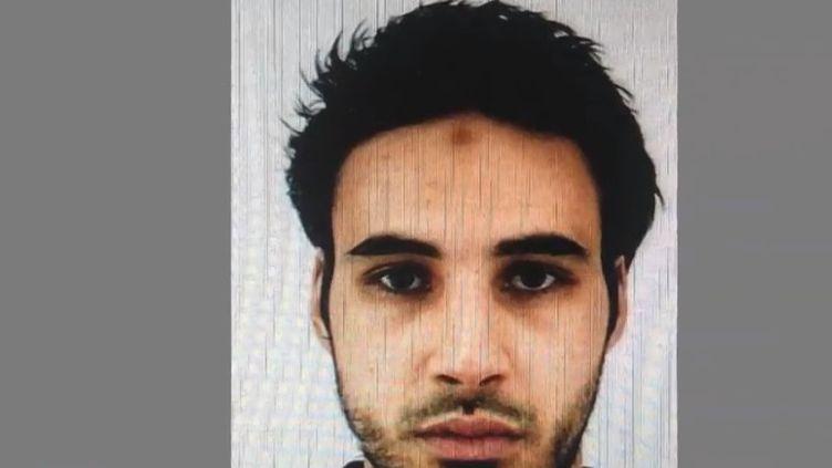 Le suspect principal de l'attentat à Strasbourg (Bas-Rhin) survenu mardi 11 décembre, Cherif Chekatt. (FRANCE 2)