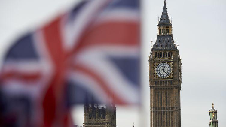L'horloge Big Ben à Londres, en novembre 2016. (NIKLAS HALLE'N / AFP)