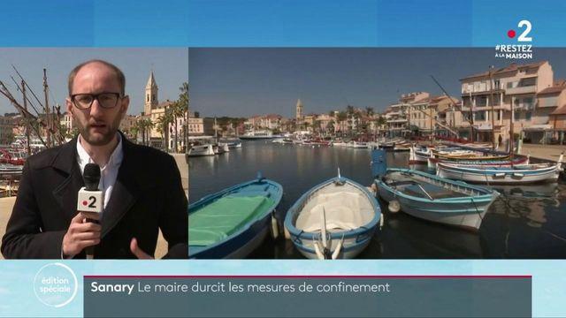Confinement: des mesures drastiques prises à Sanary-sur-Mer