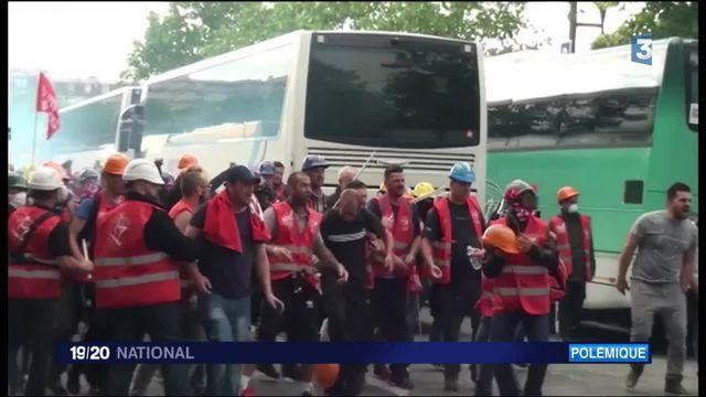 Manifestation : la CGT accusée d'avoir pris part aux violences