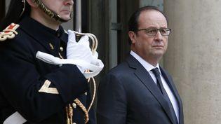 François Hollande à l'Elysée le 19 novembre 2015. (PATRICK KOVARIK / AFP)
