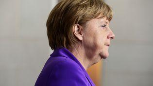La chancelière allemande, Angela Merkel, le 20 mai 2015, à Berlin (Allemagne). (JOHN MACDOUGALL / AFP)
