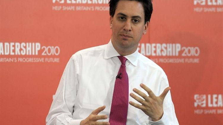 Ed Miliband, le 25/07/2010 à Leeds (AFP)