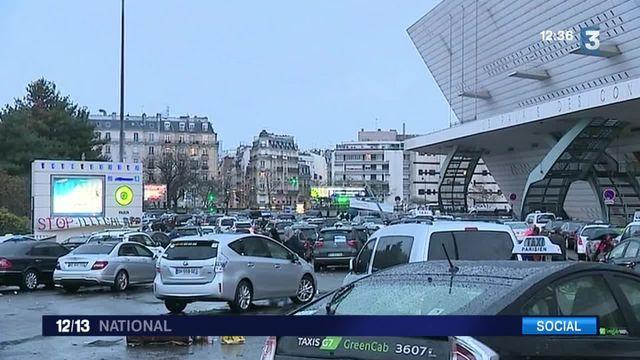 Grève : deuxième jour de mobilisation pour les chauffeurs de taxi