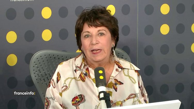 Corinne Lepage invitée sur franceinfo (FRANCEINFO / RADIO FRANCE)