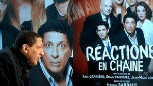 Smaïn à l'affiche de Réactions en chaîne  (France2/culturebox)