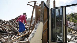L'île de Lombok, en Indonésie, a été touchée par plusieurs séismes depuis fin juillet. (ADI WEDA / EPA)